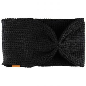 Suomessa valmistettu mustan värinen lämmin merinovillapanta aikuiselle